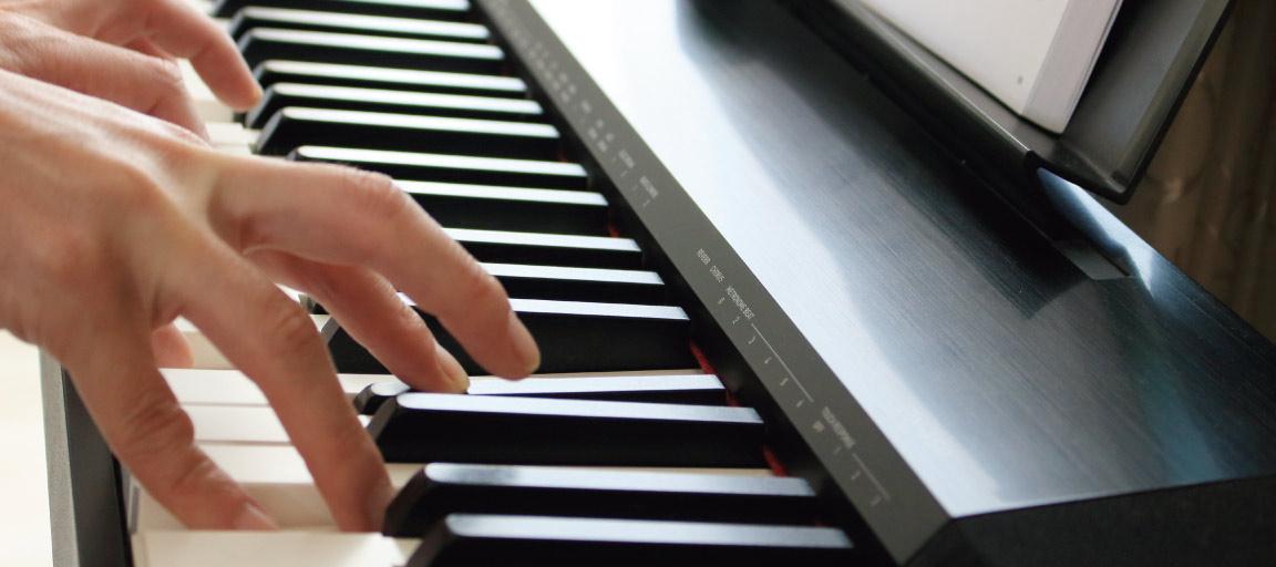 初心者向けに電子ピアノ